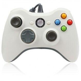 e-ville.com Xbox 360 langallinen peliohjain PC & Xbox 360 - Valkoinen