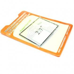 "e-ville.com 2.7"" DSLR LCD-protector - Suoja kameran näytölle"