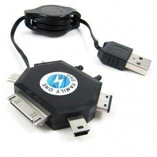 e-ville.com USB-laturikaapeli 6-in-1