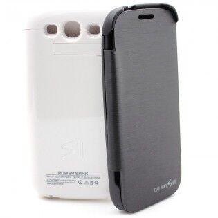 e-ville.com Samsung Galaxy S3 akku-suojakuori - Valkoinen