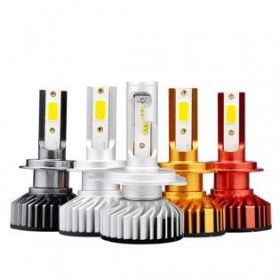 e-ville.com LED-polttimo auton ajovaloon - H4
