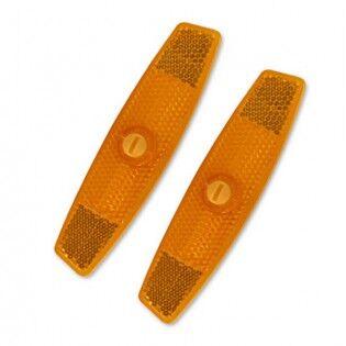 e-ville.com Pinnoihin kiinnitettävät heijastimet - Oranssi