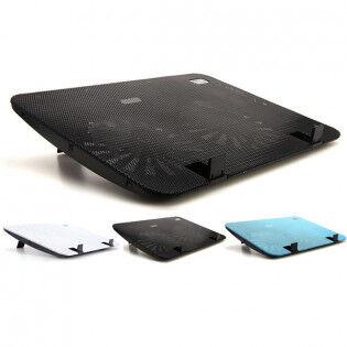 e-ville.com Tecknet tuuletinalusta kannettavalle tietokoneelle - Musta