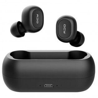 e-ville.com QCY T1 Langattomat Bluetooth 5.0 kuulokkeet - Valkoinen