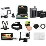 e-ville.com Xiaomi Yi 4K/4K+/Lite WiFi action-kameran lisävarustesetti 17kpl