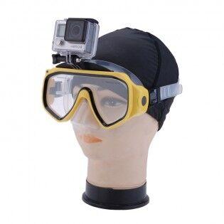 e-ville.com GoPro kiinnitys ja sukellusmaski - Keltainen