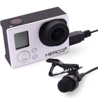 e-ville.com GoPro Hero 3, 3+ & 4 Mikrofoni klipsillä