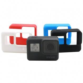 e-ville.com GoPro Hero 5 silikoninen kotelo - Punainen