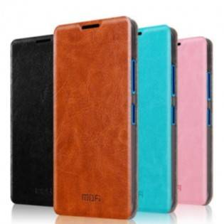 e-ville.com Suojakotelo Microsoft Lumia 640 XL -älypuhelimelle - Musta