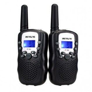 Retevis RT388 PMR lupavapaa radiopuhelin 2kpl - Musta