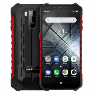 Ulefone Armor X3 veden- ja iskunkestävä älypuhelin - Punainen