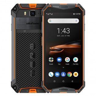 Ulefone Armor 3W vedenkestävä IP68 älypuhelin - Oranssi