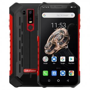 Ulefone Armor 6S vedenkestävä IP68 älypuhelin - Punainen