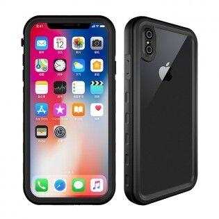 Redpepper IP68-suojattu iPhone XS -suojakuori - Musta