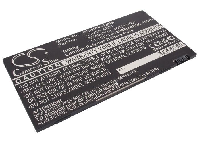 Cameron Sino HP Voodoo Envy 133 akku 2900mAh / 32.19Wh mAh - Musta