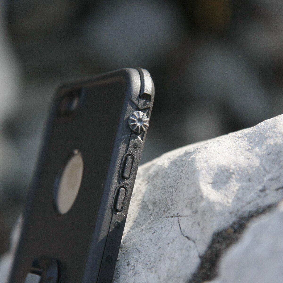 Armor-X MX Samsung Galaxy S8+ IP68 vedenkestävä suojakotelo - Musta