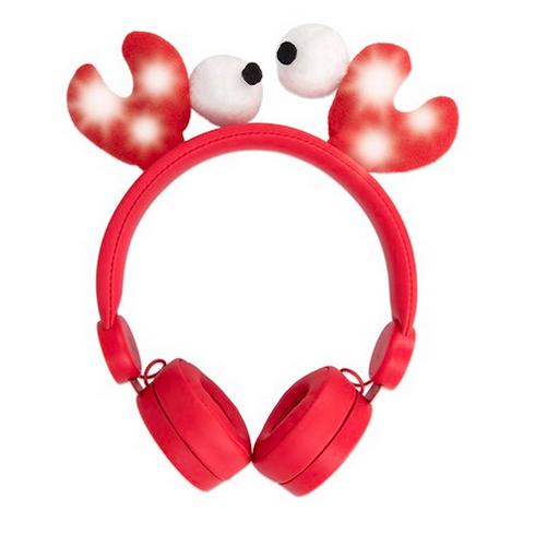 Forever AMH-100 Sweet Animal lasten kuulokkeet  punainen rapu