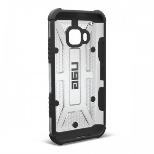 UAG Urban Armor Gear HTC One M9 Composite Suojakotelo Ice/Black- Suojakalvolla