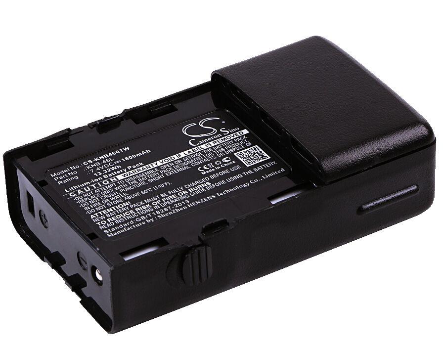 Cameron Sino KENWOOD ProTalk XLS 464-467  TK-3230  TK-3230BKP Radiopuhelimen Akku