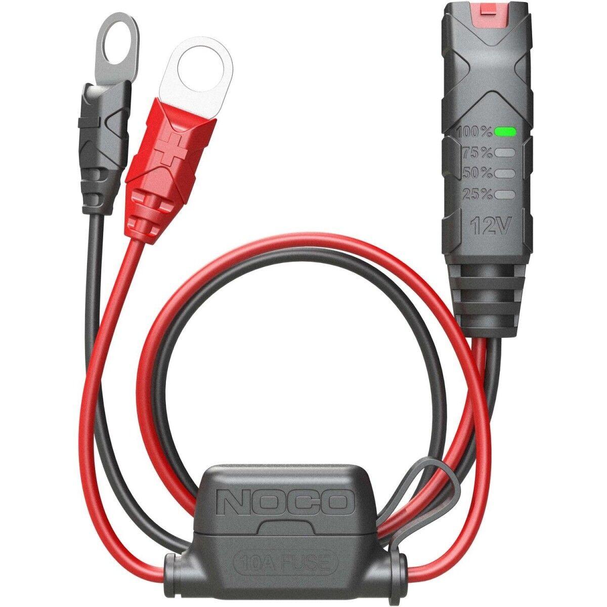 Noco GC015 Eyelet Akun latauskaapeli + LED indikaattori