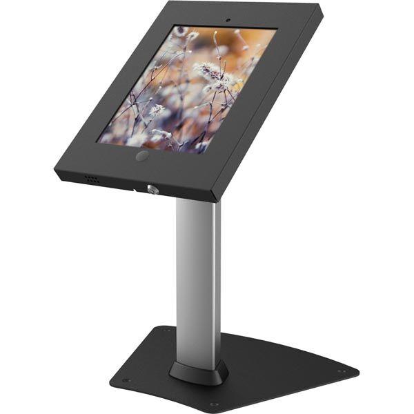 EPZI lukittava lattiateline iPad 2/3/4 2 avainta  lukkoreikä  hop/mu