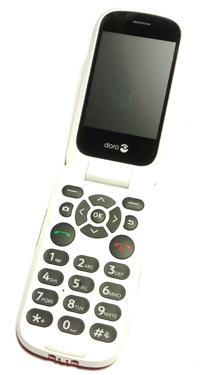 Doro 7070 Punainen Puhelin - Käytetty