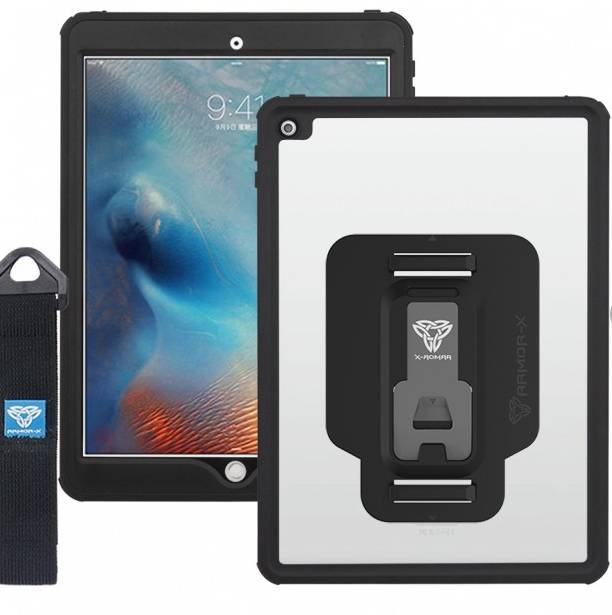 Armor-X MX IP68 Vedenkestävä Suojakotelo iPad Pro 10.5  läpinäkyvä / musta