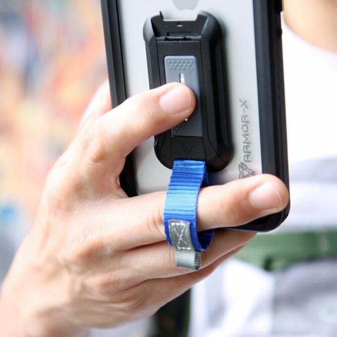 Armor-X MX IP68 Vedenkestävä suojakotelo iPhone XS Max musta / läpinäkyvä