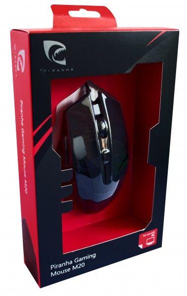 Hiiri Piranha Gaming Mouse M20