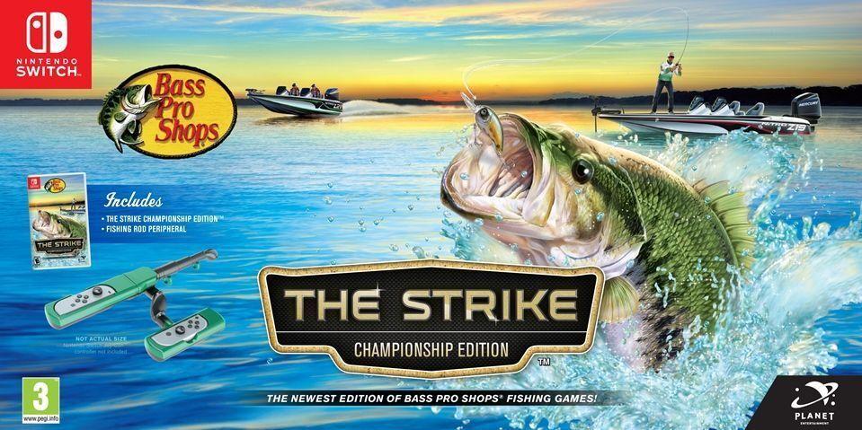 Bass Pro Shops The Strike Championship Edition Bundle Switch