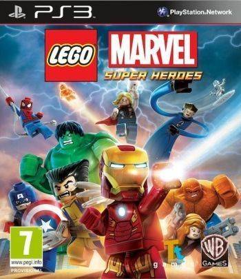 Lego Marvel Super Heroes PS3 (Käytetty)