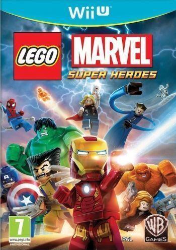 Lego Marvel Super Heroes WiiU (Käytetty)