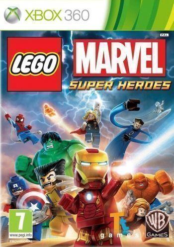 Lego Marvel Super Heroes Xbox 360 (Käytetty) (Käytetty)