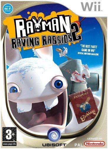Nintendo WII Rayman Raving Rabbids 2 (Käytetty)