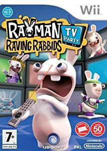 Nintendo Wii Rayman Raving Rabbids TV-Party (Käytetty)