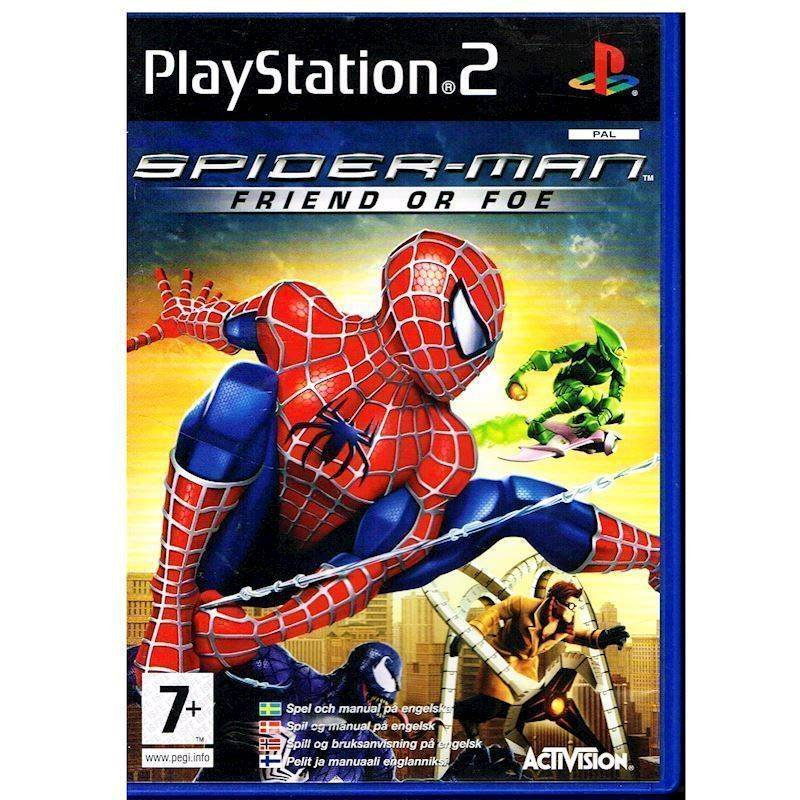 Spiderman Friend or Foe PS2 (Käytetty)