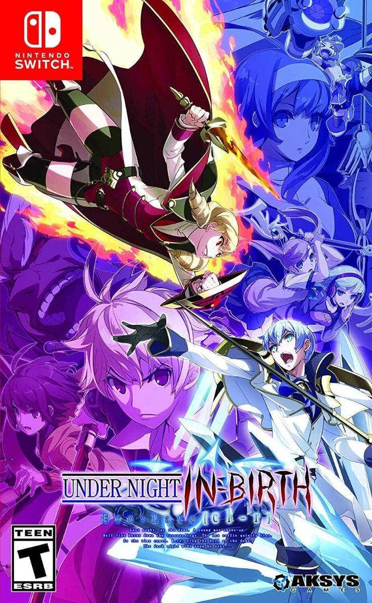 Under Night In-Birth Exe: Late [cl-r] Switch