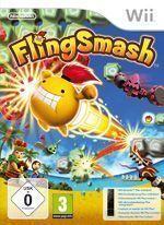 Nintendo Flingsmash + Wii Ohjain musta Wii (Käytetty)