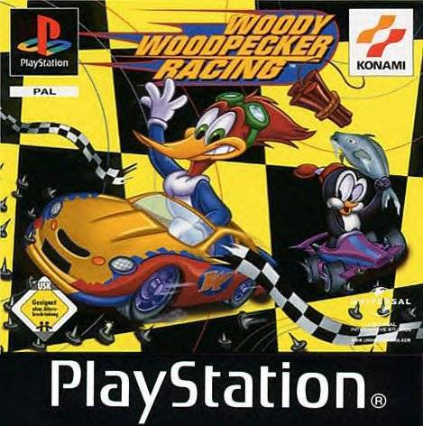 Woody Woodpecker Racing (CIB) PS (Käytetty)