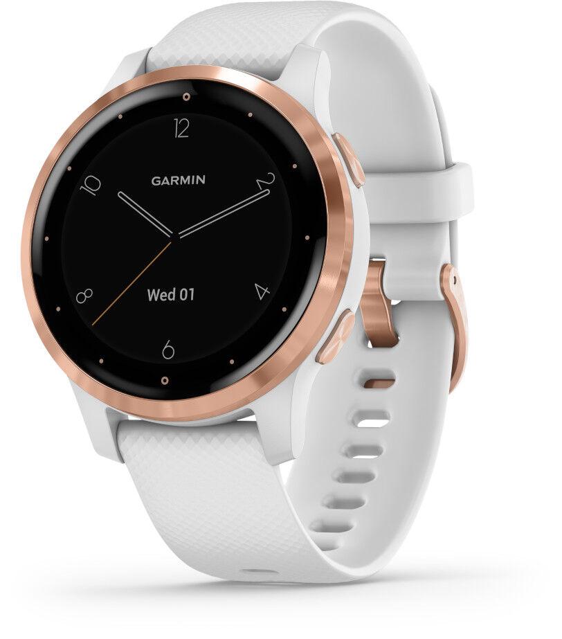 Image of Garmin Vivoactive 4S White and Rose Gold GPS-älykello 010-02172-22