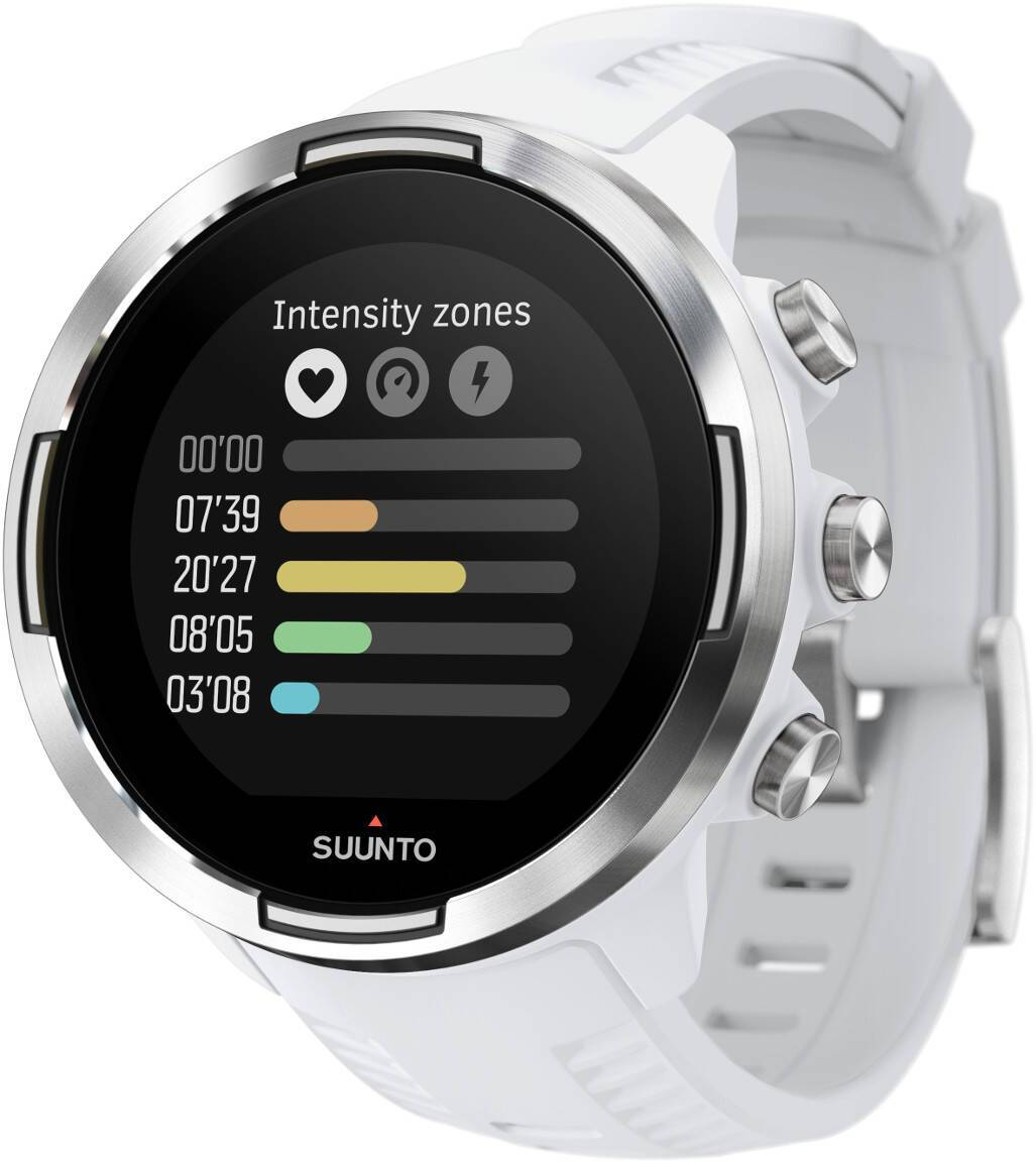 Suunto 9 Baro White sykemittari