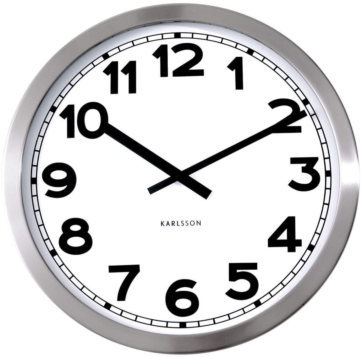 Karlsson Wall clock Numbers KA850520 seinäkello 50cm
