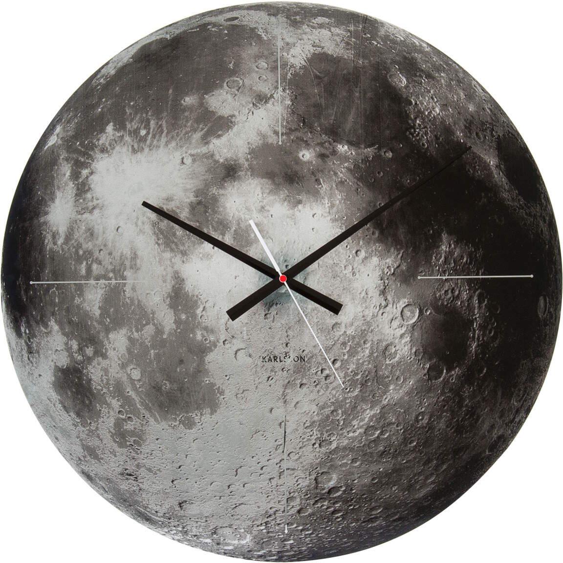 Karlsson Moon KA5475 seinäkello 60cm