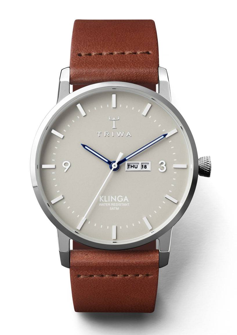 Triwa KLST105 Mist Klinga Brown Classic-Silver