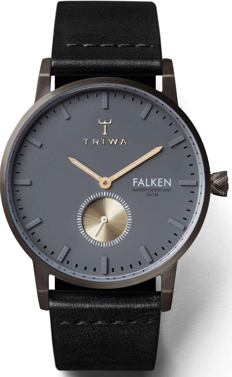 Triwa Walter Falken Black Classic FAST102