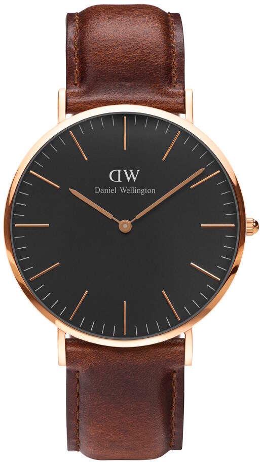 Daniel Wellington St Mawes Classic Black 40mm DW00100124