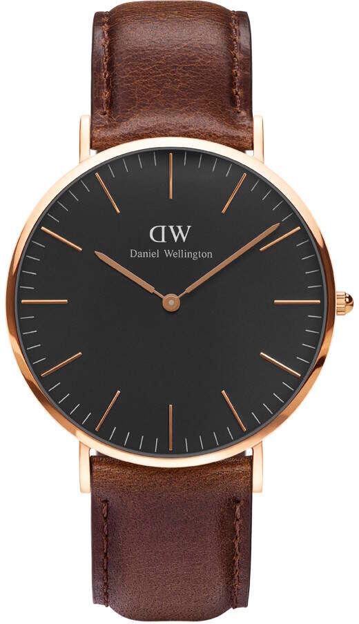Daniel Wellington Classic Black Bristol 40mm DW00100125
