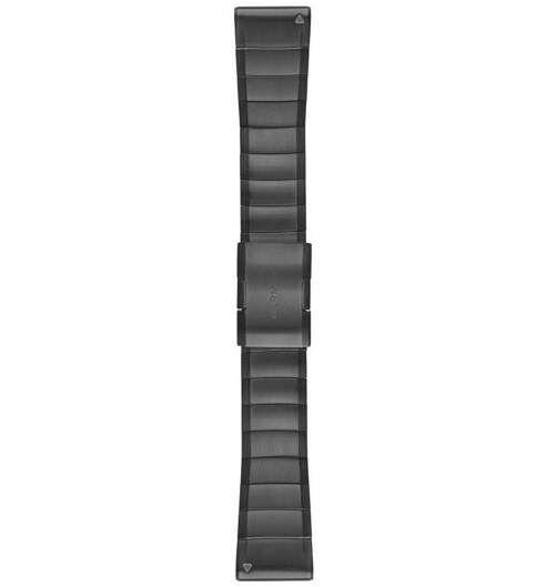Garmin Fenix 5X QuickFit 26mm teräsranneke 010-12517-05