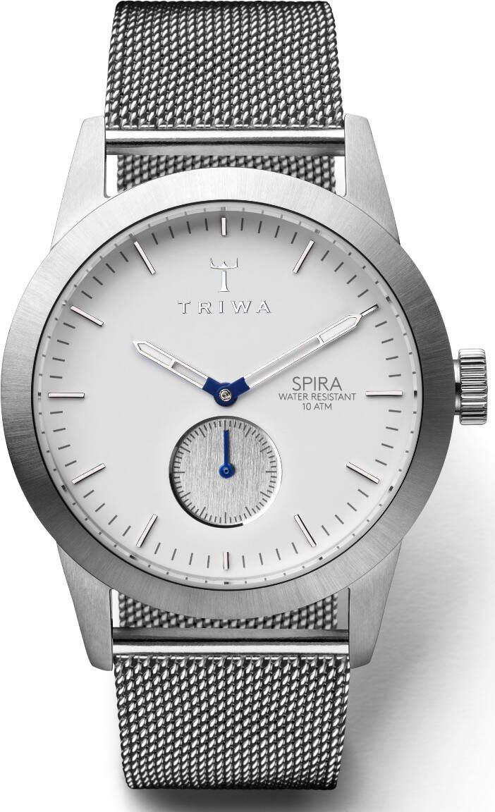 Triwa SPST102 Ivory Spira Steel Mesh