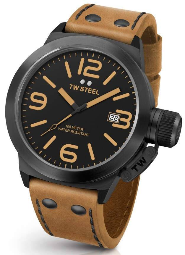 TW Steel CS41 Canteen Leather 45mm